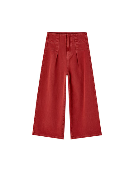 Mid-rise culottes