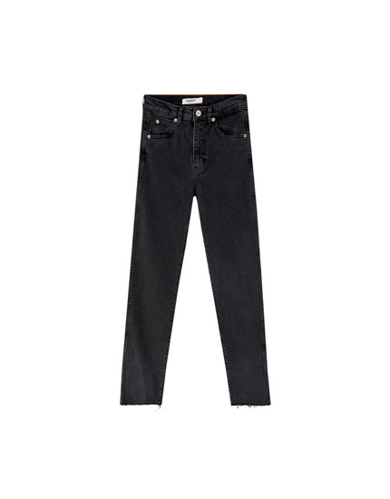 Comfort Mom-Jeans im Slim-Fit