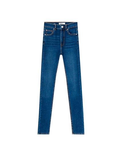 Basic skinny high waist jeans