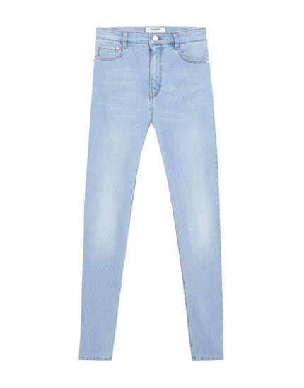 alto Jeans fit super tiro de skinny ROOPxpwq8v