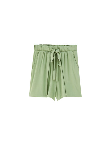 Piqué Bermudas with pockets