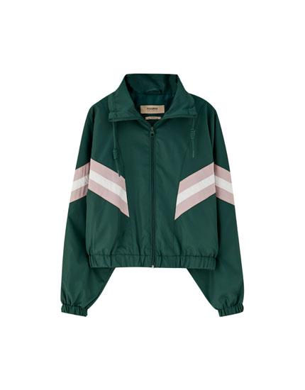 Panelled sleeve jacket
