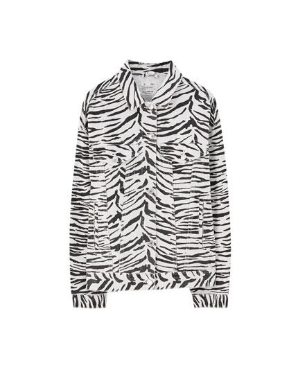Denim zebra jack