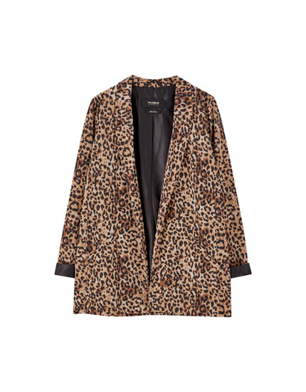 Leopard-Blazer Party