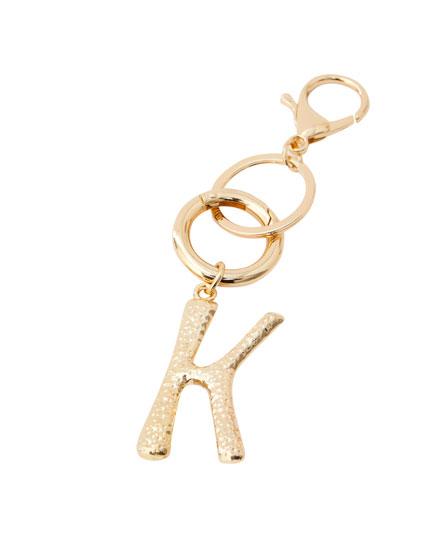 Breloc litera K