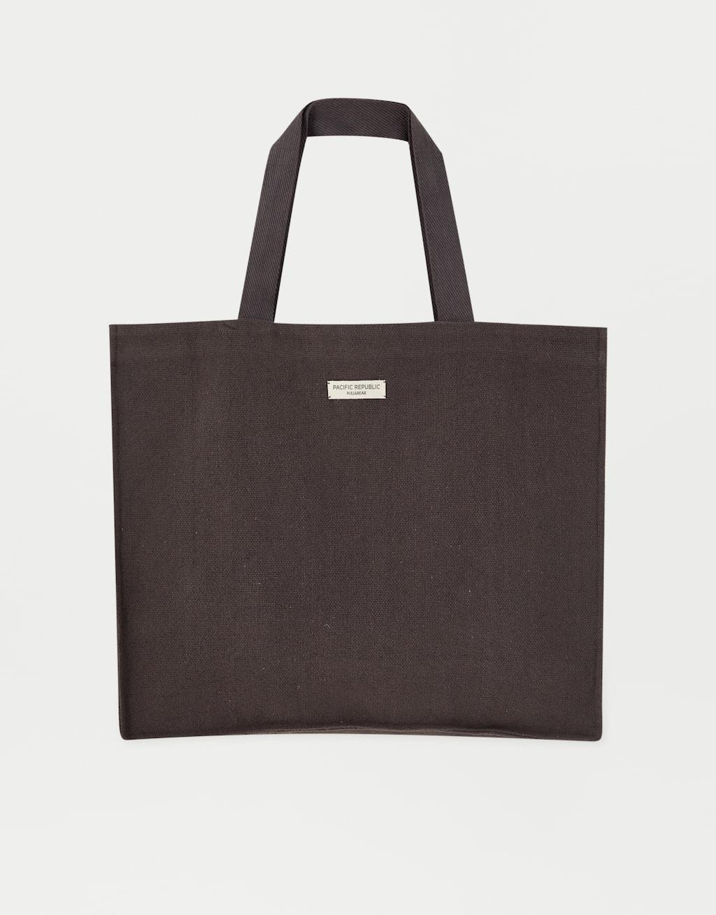 Rustic Short Handle Bag by Pull & Bear
