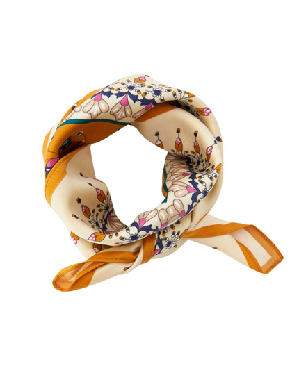 Paisley patterned neckerchief