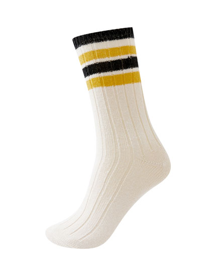 Chunky sports socks