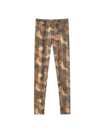 Legging estampado serpiente