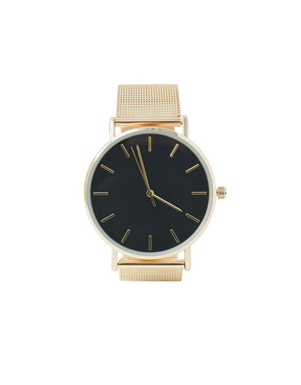 Mesh strap watch