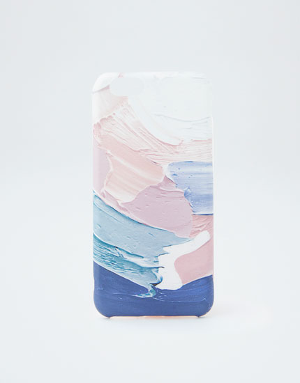 Paint smartphone case