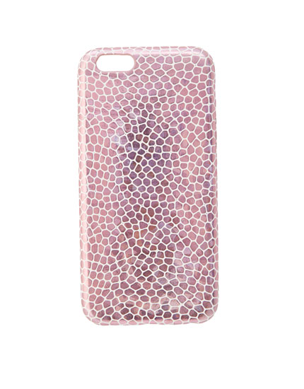 Animal print smartphone case