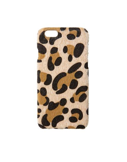 Etui med leopardprint