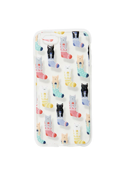 Cats in socks smartphone case