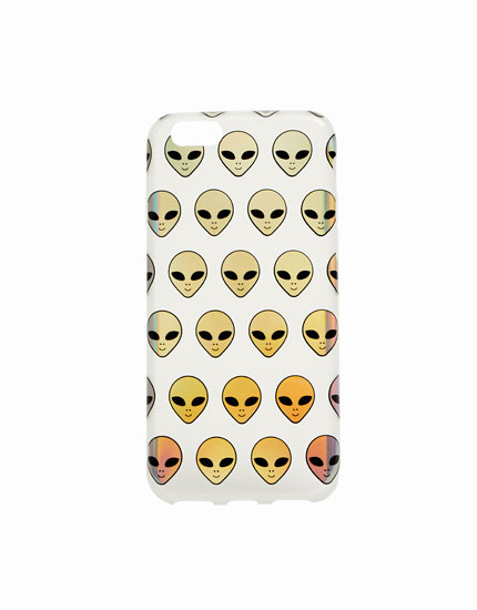 Alien mobile phone case