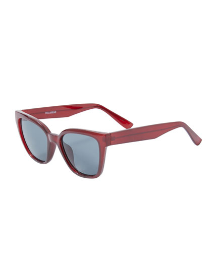 Gafas de sol cat eye rectangular