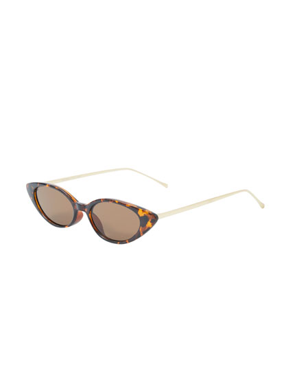 Gafas de sol cat eye carey