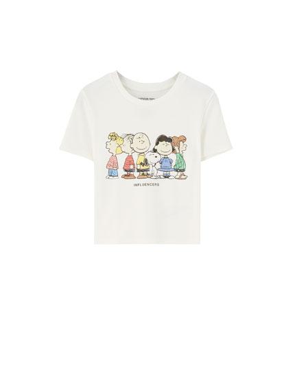 Peanuts character T-shirt