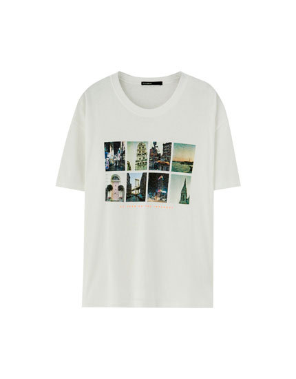 T-shirt photos collage