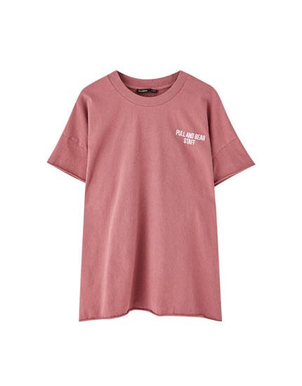 T-shirt Pull&Bear inscription