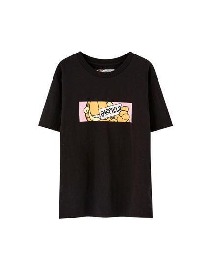 Garfield T-shirt met korte mouw