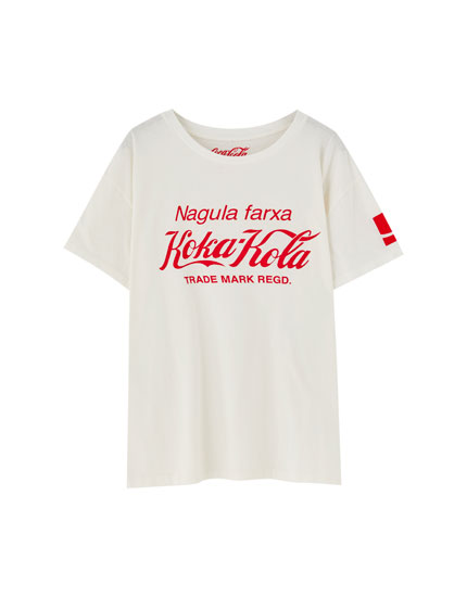 White Coca-Cola T-shirt