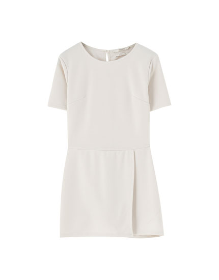 Short sleeve skort dress