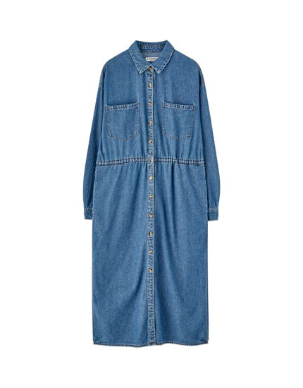 Robe tunique denim