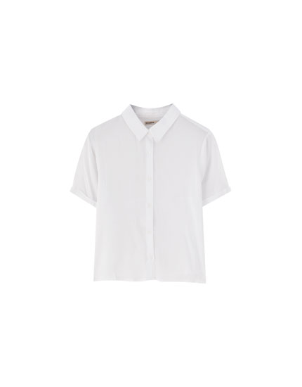 Camisa manga corta colores lisos