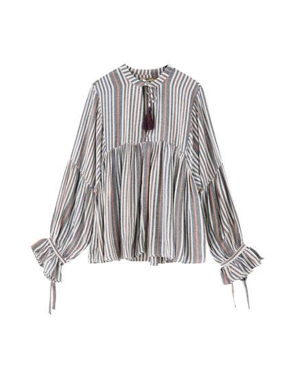 Γυναικείες μπλούζες και πουκάμισα - Άνοιξη-Καλοκαίρι 2019  5e65753a163
