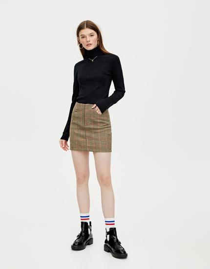 Basic roll neck sweater