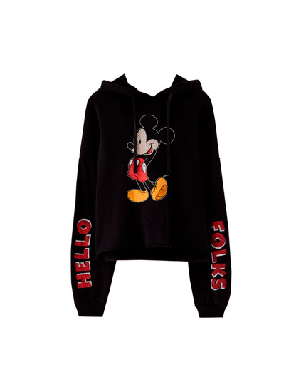 Sweat Mickey Mouse à capuche