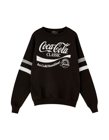 Coca-Cola sweatshirt with bands