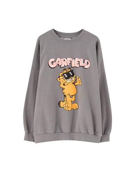 Garfield faded sweatshirt