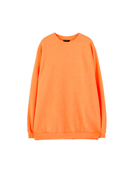 Neonfarvet sweatshirt