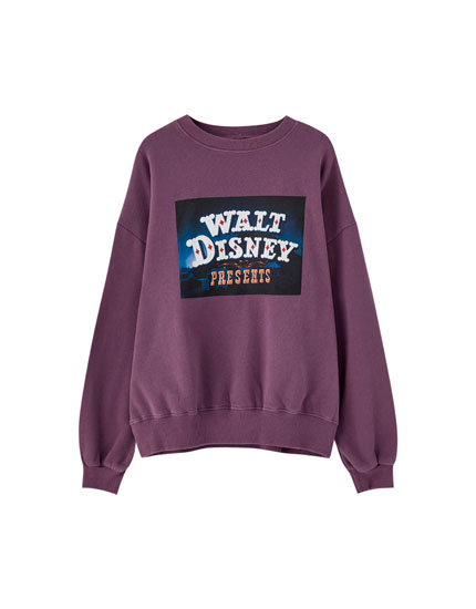 Purple Walt Disney Dumbo sweatshirt
