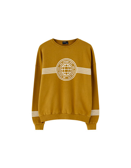 Join Life faded-effect sweatshirt