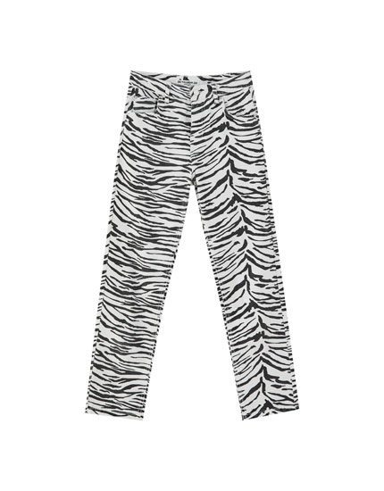 Texans mom fit zebra