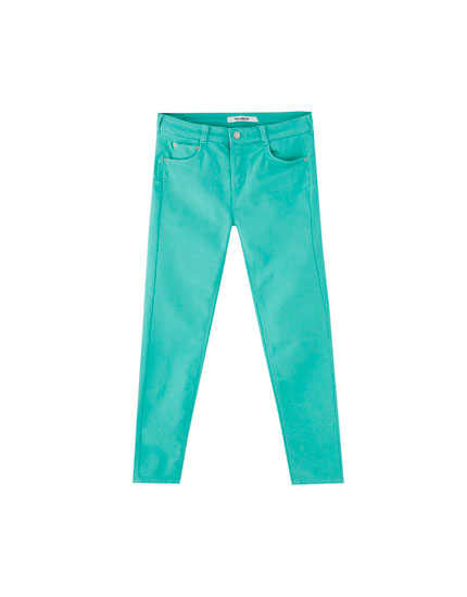 Pantalon push up cinq poches