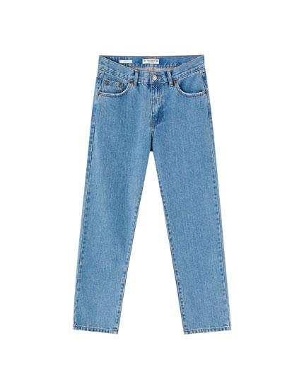 100% cotton regular fit jeans