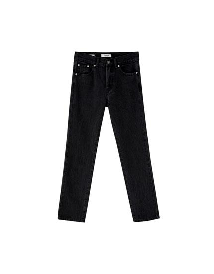 Jeans regular fit 100% algodón