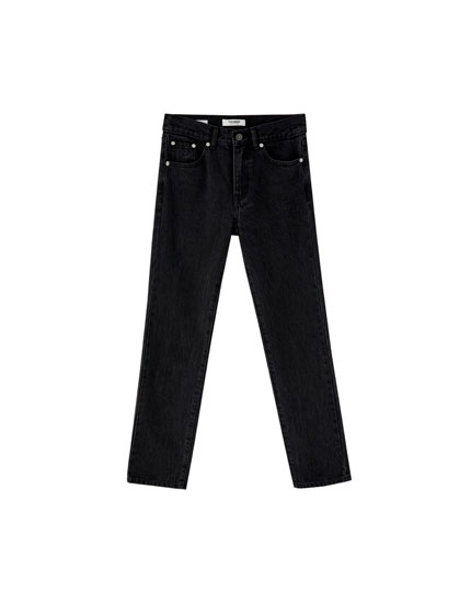Regular fit jeans 100% katoen