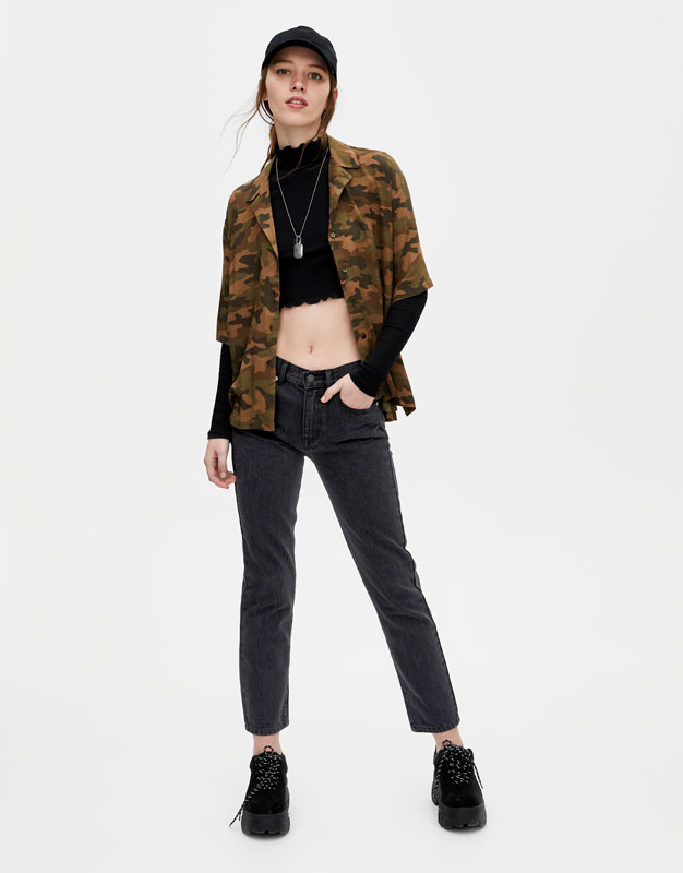 Jean 100% Coton Coupe Droite by Pull & Bear