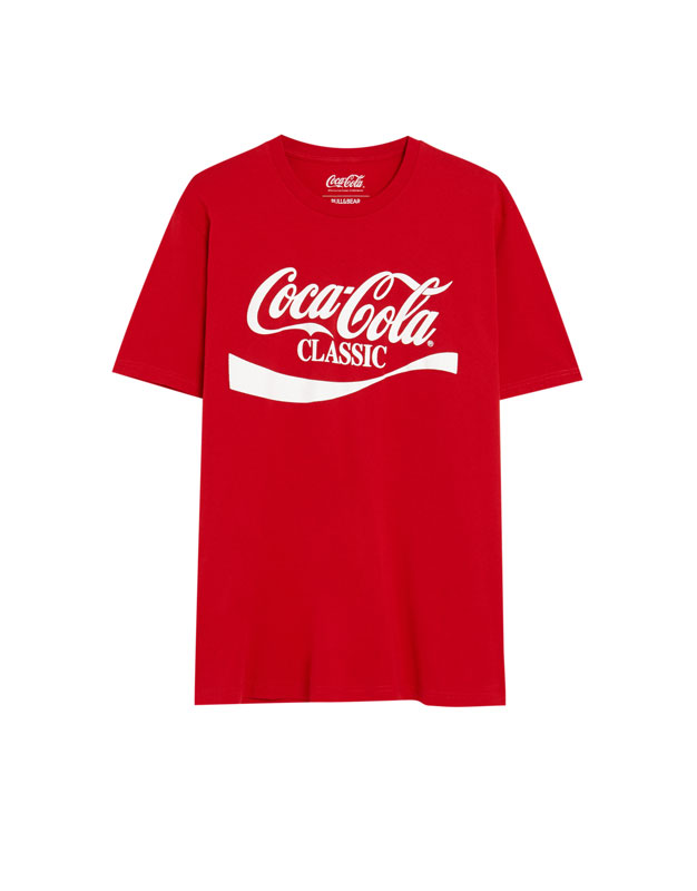 309dacf6 ... Logo Signs Vintage Source · Coca Cola Classic T shirt PULL&BEAR