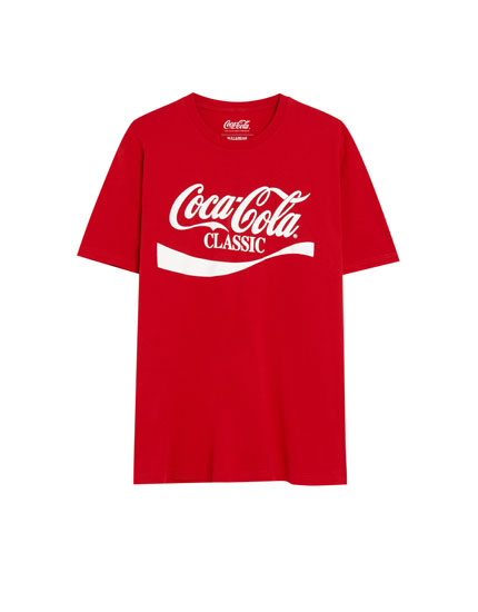Klassisches Coca-Cola Shirt