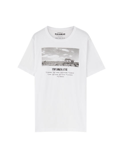White 'My Own Way' T-shirt