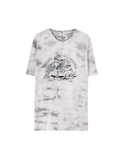 Finn Wolfhard tie-dye T-shirt