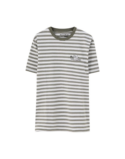Finn Wolfhard striped T-shirt