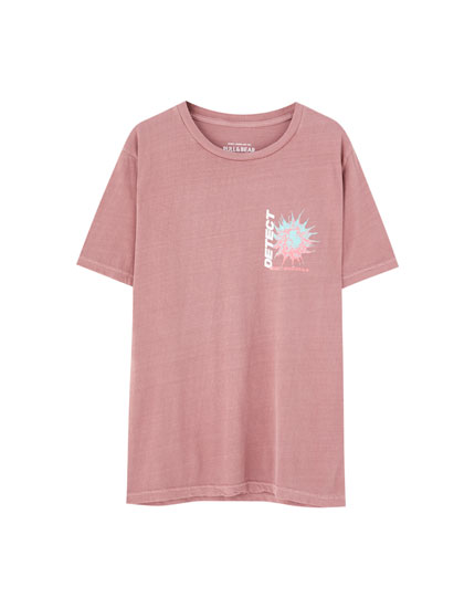 Faded pink T-shirt
