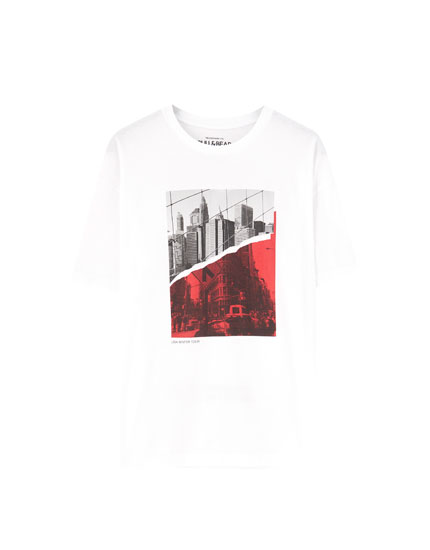 White 'Los Angeles' T-shirt